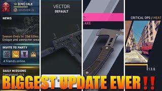 Critical Ops Update 2019 Tactical Axe, Season 3 Pass, New UI, New Map Heat  & Vector‼️