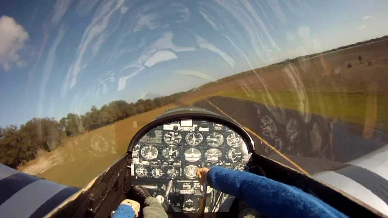 Rc P 51 Mustang With Gopro Hero Hd And Moving Pilot Youtube