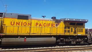 Train action in Sturtevant Wisconsin
