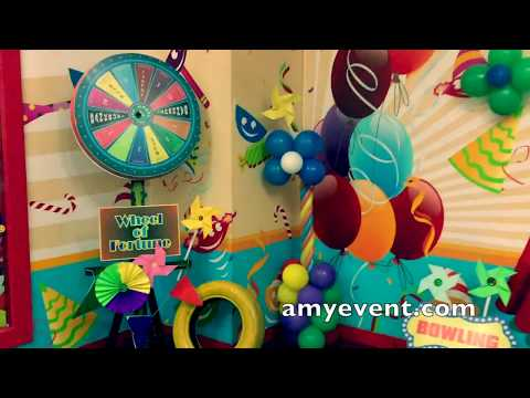 Birthday Party Game Stalls for Kids : amy events