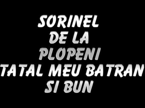 SORINEL DE LA PLOPENI - TATAL MEU BATRAN SI BUN