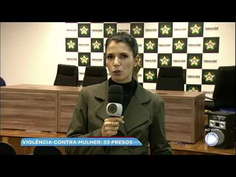 Megaoperação contra violência a mulher prende 34 pessoas