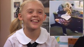 11-Year-Old Leaps Into School Employee's Arms After Learning She'll Be Adopted