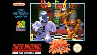 Clay Fighter ar y Sega Mega Drive || Cymraeg