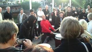Bujin-Taiko japanese drums/drumming at the Japan Day 2011