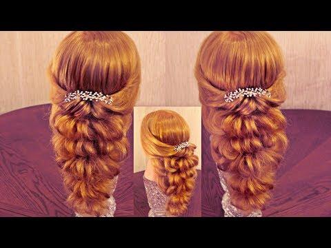 Причёска с помощью резинок - Красота! - 3