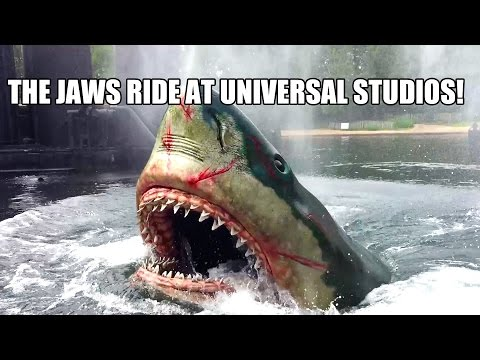 Jaws Ride Complete POV 60FPS Universal Studios Japan AWESOME!