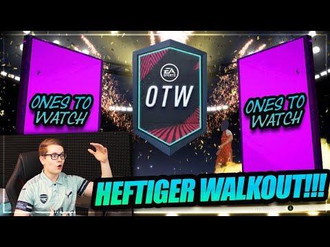 FIFA 19: HEFTIGER WALKOUT OTW PACK OPENING!! 🔥🔥 FIFA 19 Ultimate Team (Deutsch) - Ones To Watch