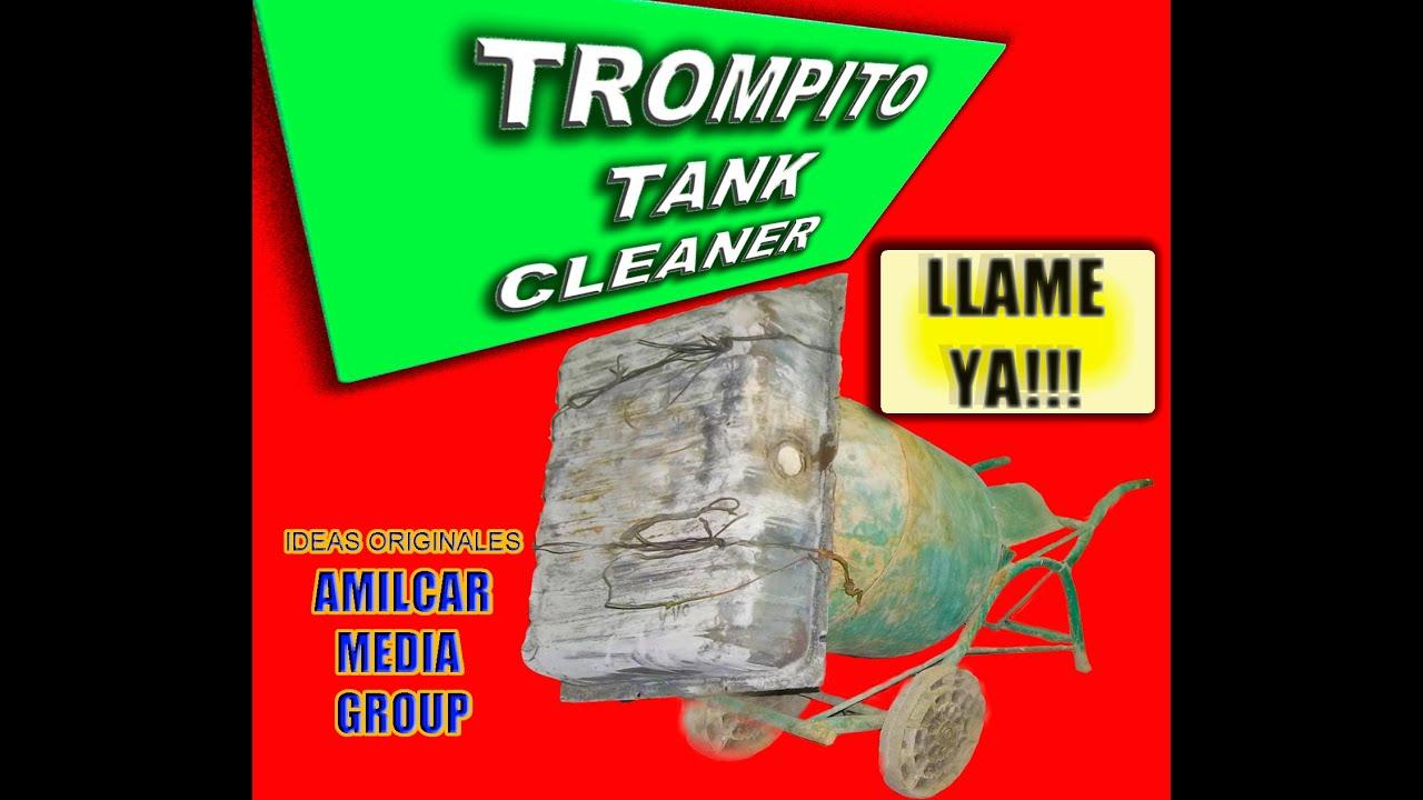 Limpieza de tanque de combustible con hormigonera for Limpieza de tanques de combustible