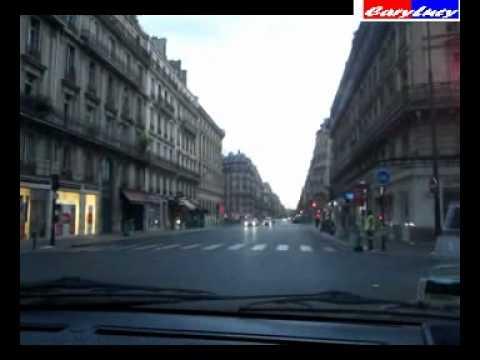 DE LA GARE MONTPARNASSE A GARE DU NORD  PARIS