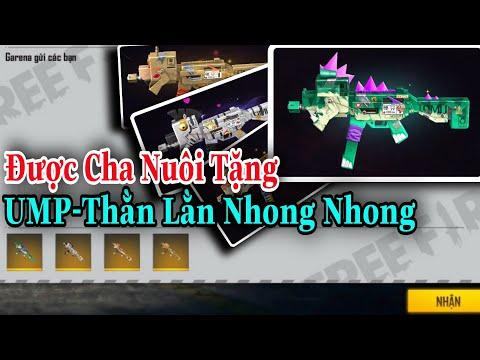 (FREEFIRE) UMP - Thằn Lằn Nhong Nhong Bắn Cực Nhanh , 4 Cây Súng Huyền Thoại Của UMP | Nam Lầy.