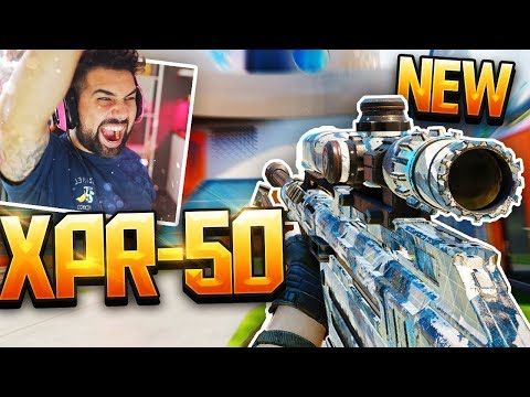 NEW  XPR-50 SNIPER GAMEPLAY  in Black Ops 3