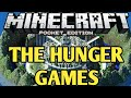 """The Hunger Games - """"OverHyped!"""" - Minecraft PE (Episode 1)"""