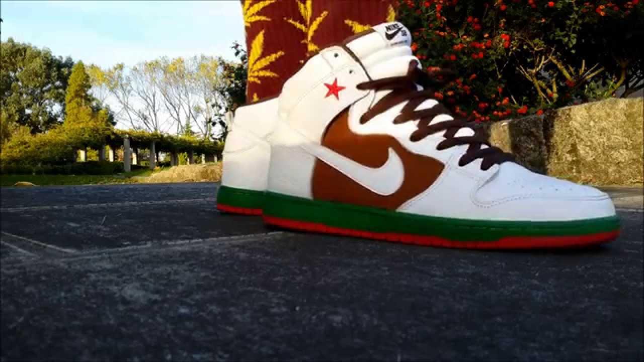 cheaper d535e 86f0a Nike SB Dunk High   Cali   - On Feet!