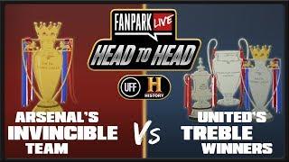 Man Utd Treble Winners vs Arsenal Invincibles LIVE Debate