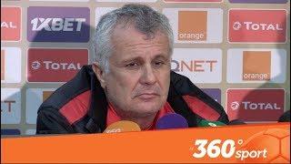 Le360.ma • مدرب الوداد على أتم استعداد قبل المباراة ضد صانداونز