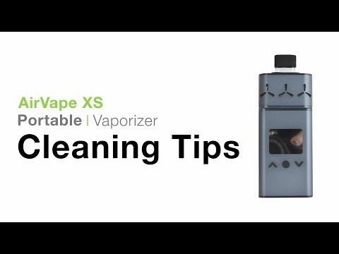 AirVape XS Cleaning Tips