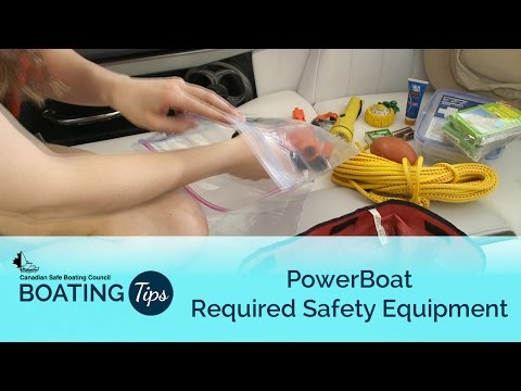 Power Boat Required Safety Equipment