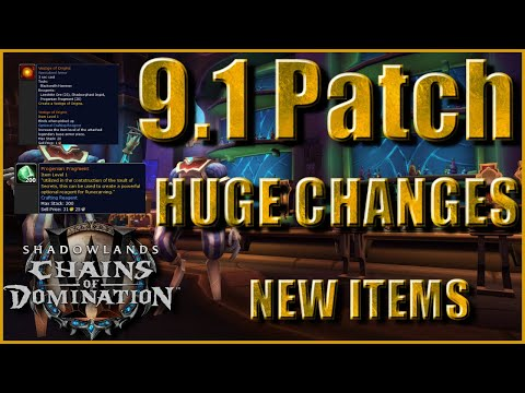 Patch 9.1 PTR Profession Changes | New Items & Gold Guide | Material Stockpile Prep LIST!!!