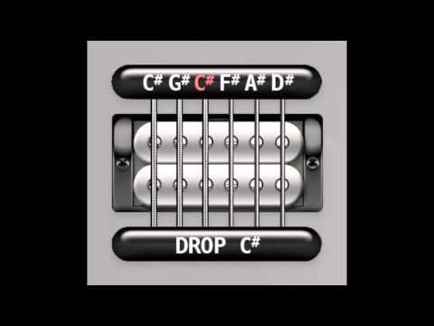 Perfect Guitar Tuner (Drop C# / Db)