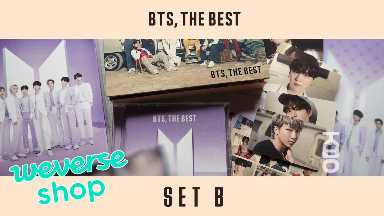 [ UNBOXING ] 4K 방탄소년단 『BTS, THE BEST』 SET B (Weverse Shop) | Japan BEST Album 언박싱