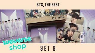 [ UNBOXING ] 4K 방탄소년단 『BTS, THE BEST』 SET B (Weverse Shop) |…