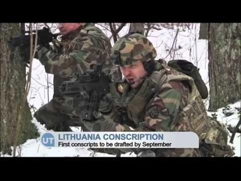 Lithuania Conscription: Baltic country plans to call up 3,000 in 2015 to counter Russian threat