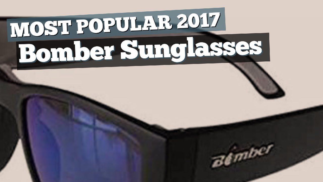 f70f3922893d Bomber Sunglasses Collection // Most Popular 2017 - YouTube