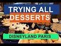 TRYING ALL DESSERTS at NEWPORT BAY CLUB | CAPE COD | DISNEYLAND PARIS