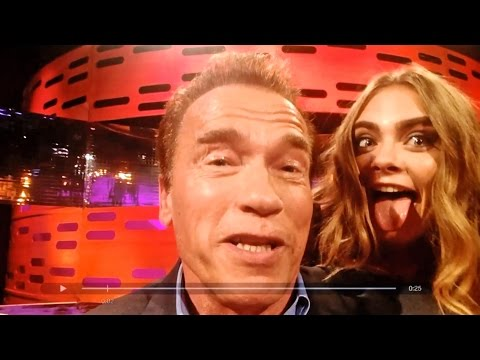 Jake Gyllenhaal, Emilia Clarke, & Cara Delevingne on Arnold's movie lines - The Graham Norton Show