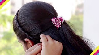 Most Beautiful Everyday Hairstyles Do It Yourself | 5 Easy Hairstyles You Can Do in Just 5 Minutes