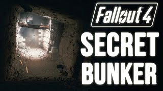 Fallout 4 Easy to MISS Hidden Location A Secret Bunker Location Unmarked