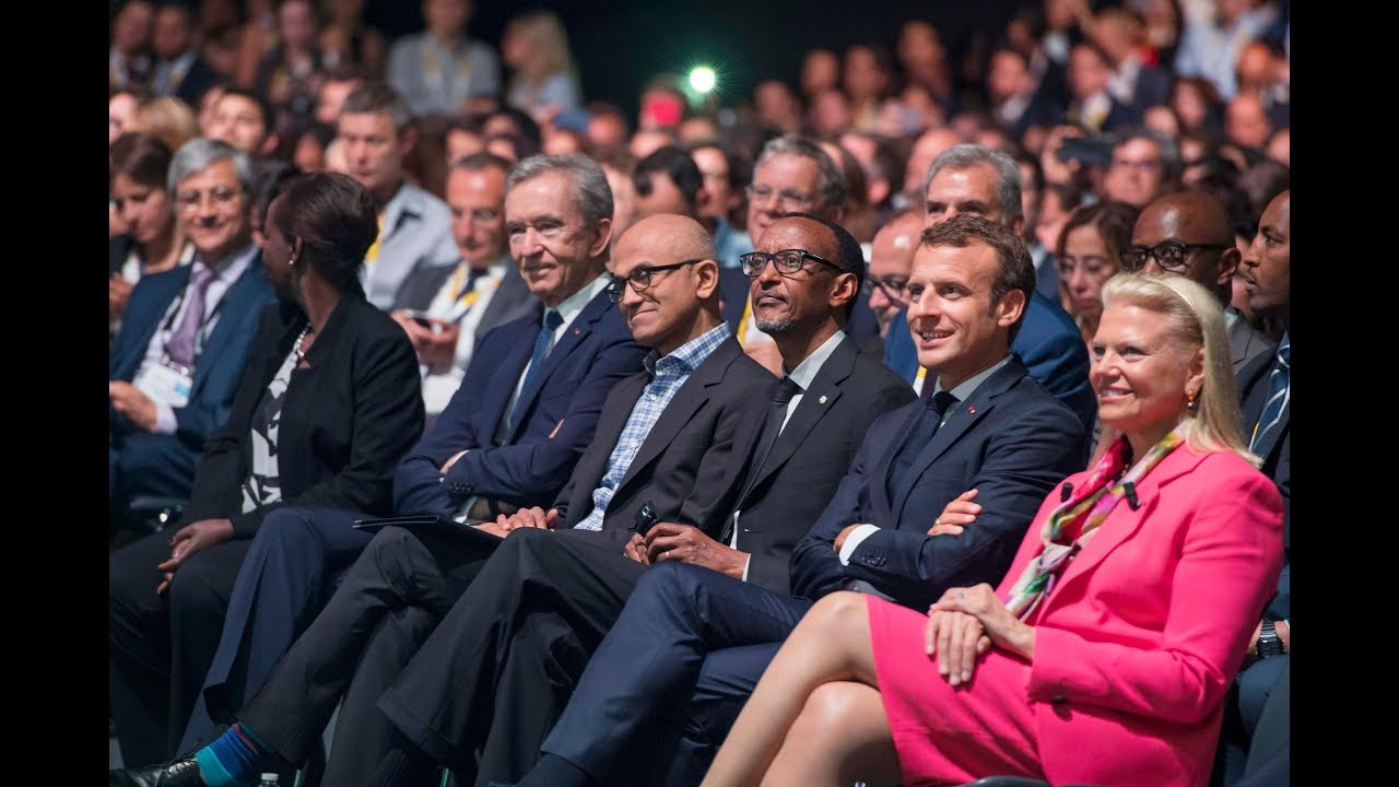 President Kagame & President Macron attend VivaTech 2018