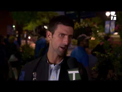 Novak Djokovic Winner's Interview: U.S. Open