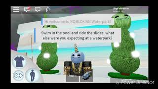 Robloxian Water Park - Tour on a Cloud