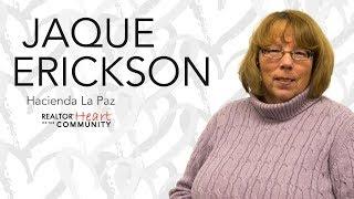 2017 Heart of the Community Recipient: Jaque Erickson