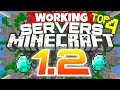 Minecraft 1.2 - BEST 4 SERVERS TO JOIN [MCPE 1.2.9] (Minecraft PE) (WORKING)
