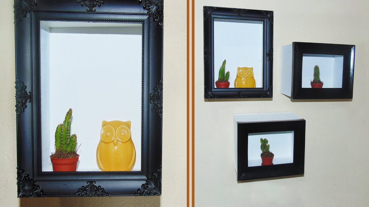Diy Cuadros Decorar Con Cuadros Repisas Diy Youtube