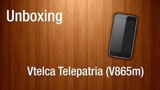 Unboxing - Vtelca Telepatria (V865m)