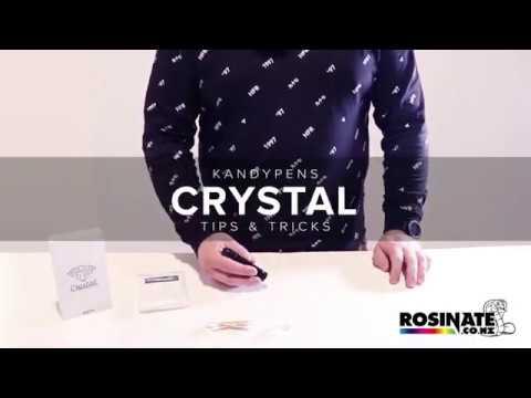 KANDYPENS CRYSTAL VAPORIZER – Tips & Tricks | Rosinate.co.nz