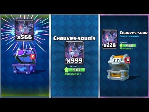 Clash Royale / WOW!! PACK OPENING DE CHAUVES-SOURIS