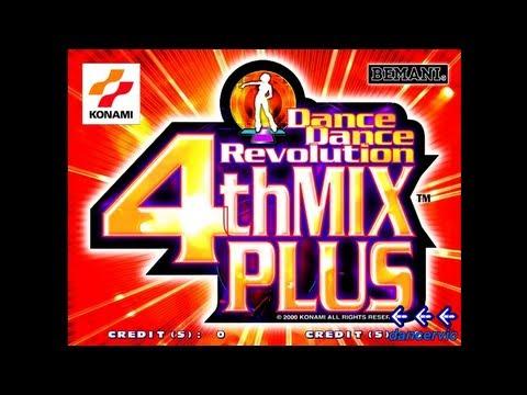"""Japan's AC Ver. """"DDR 4thMIX PLUS"""""""