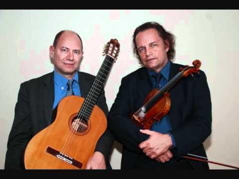 Prelude in e minor (original f minor), BWV 881, WTC II, played by Jochen Brusch og Finn Svit.wmv