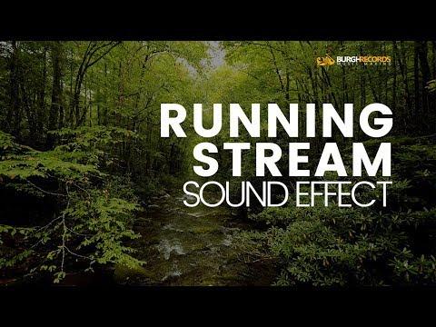 Flowing Stream Sound Effect | Free Sound Effects | WAV