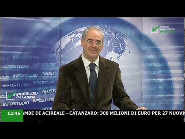 InfoStudio il telegiornale della Calabria notizie e approfondimenti - 15 Dicembre 2019 ore 13.30