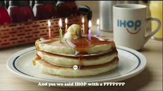 IHOP'S 60th Anniversary! $.60 Pancakes 🥞 Today July 17th, 7am - 7pm