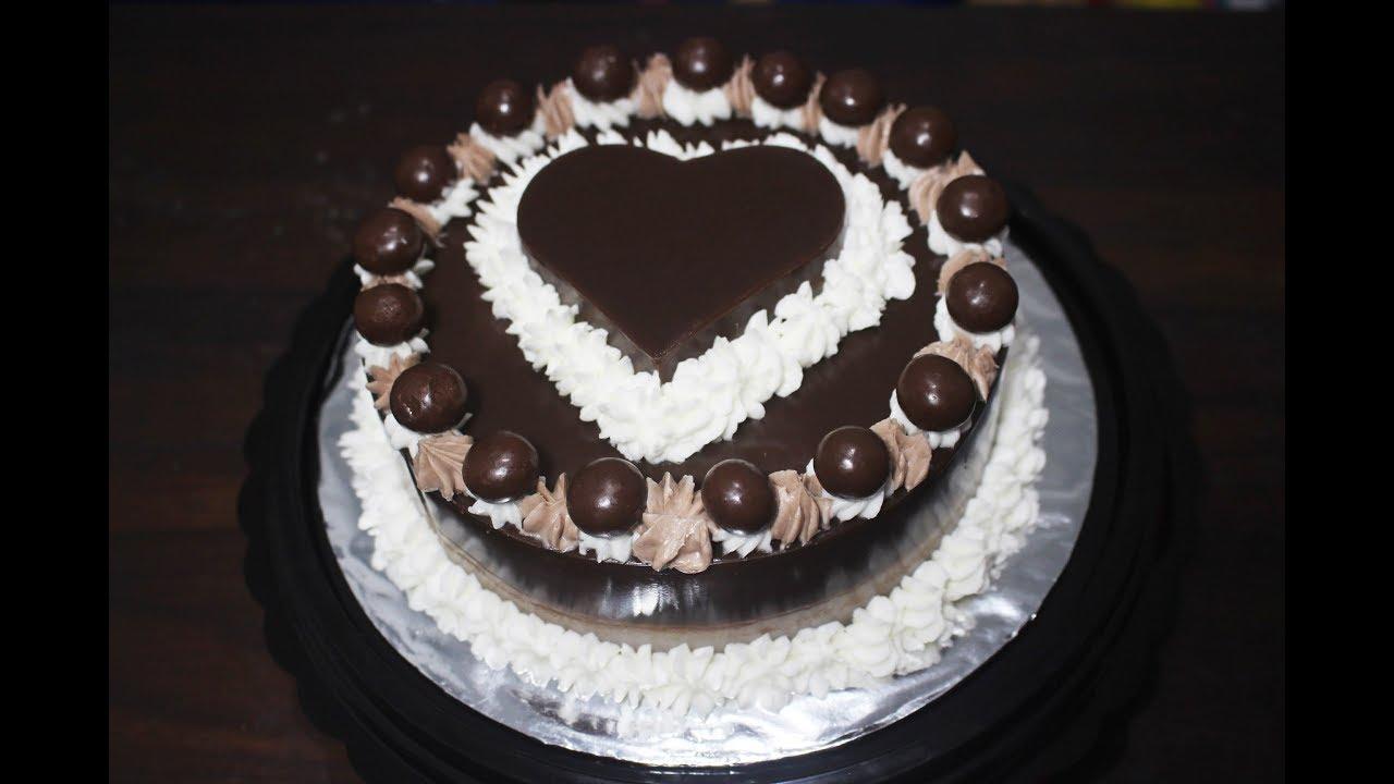 Cara Membuat Kue Ultah Sederhana Tart Puding Bentuk Hati