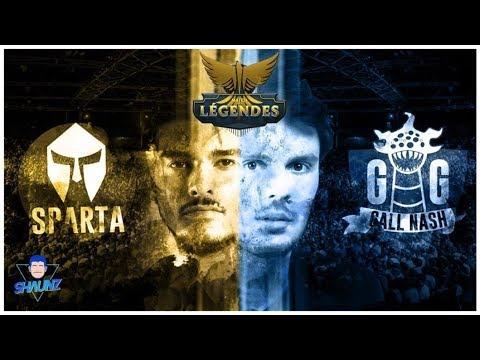 LE MATCH DES LEGENDES : SPARTA VS GG CALL NASH