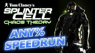Splinter Cell: Chaos Theory - Any% Speedrun (Expert) [49:48]