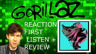First Listen To Gorillaz - Humility ( ft. George Benson ) TRACK REACTION + RATING